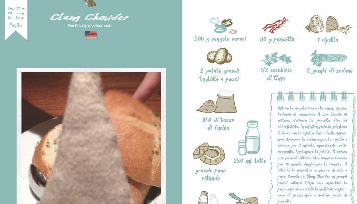 Clam Chowder – San Francisco- USA